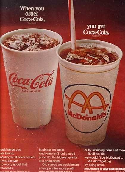 Coca Cola Company's Coca-Cola (1968)Company Cocacola, Coca Cola 1968 Coke, Fountain Coca Cola, Cocacola 1968, Coke A Cola, Coke Fans, Things Coca Cola, Real Things, Coca Cola 3