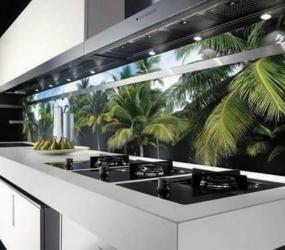 Пластиковые панели в оформлении кухни