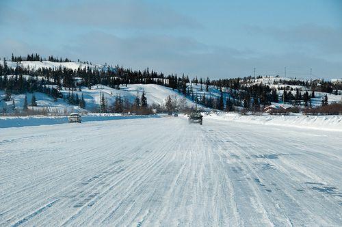 Yellowknife ice road