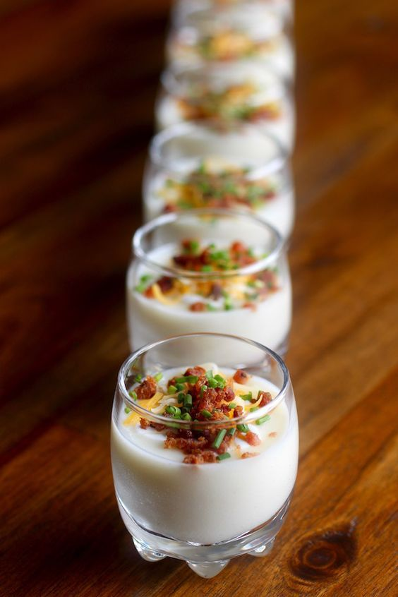 100 shooter recipes on pinterest dessert shooters for Dessert canape ideas