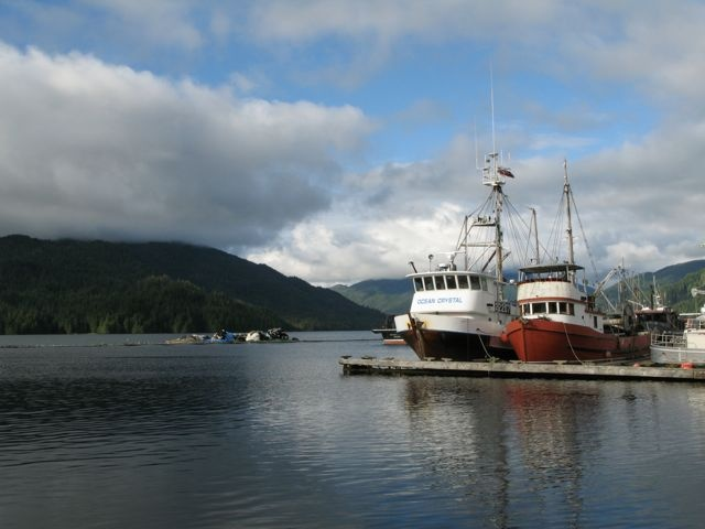 Kitimat fishing boats