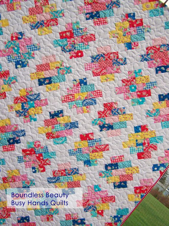 Boundless Beauty Quilt Pattern Pdf In 5 Sizes From Baby To