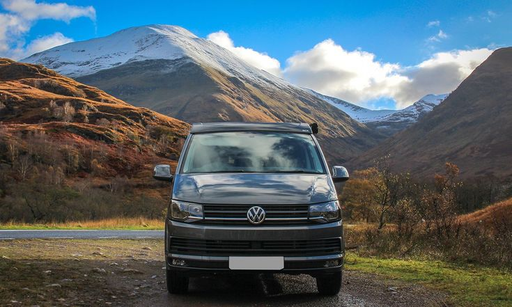 VW T6 Highline Campervan in Indium Grey with the SCA Panoramic Elevating Roof finished and already away on adventures.