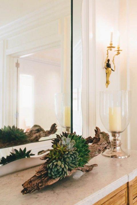 Inspiration: succulents & driftwood | Design: Jean Liu | lark & linen