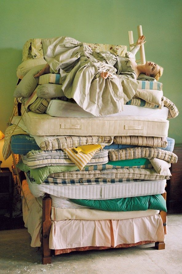 August 2006 Guinevere Van Seenus. Princess and the Pea Look back at photographer Tim Walker's many fantastical Vogue shoots