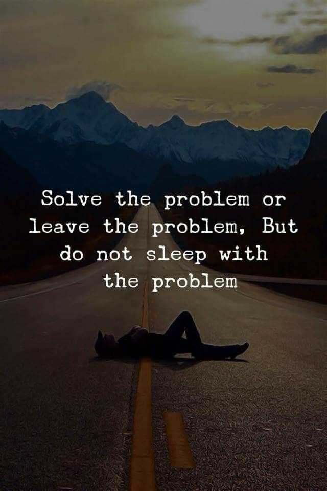 Difficult to know whom the problem is...