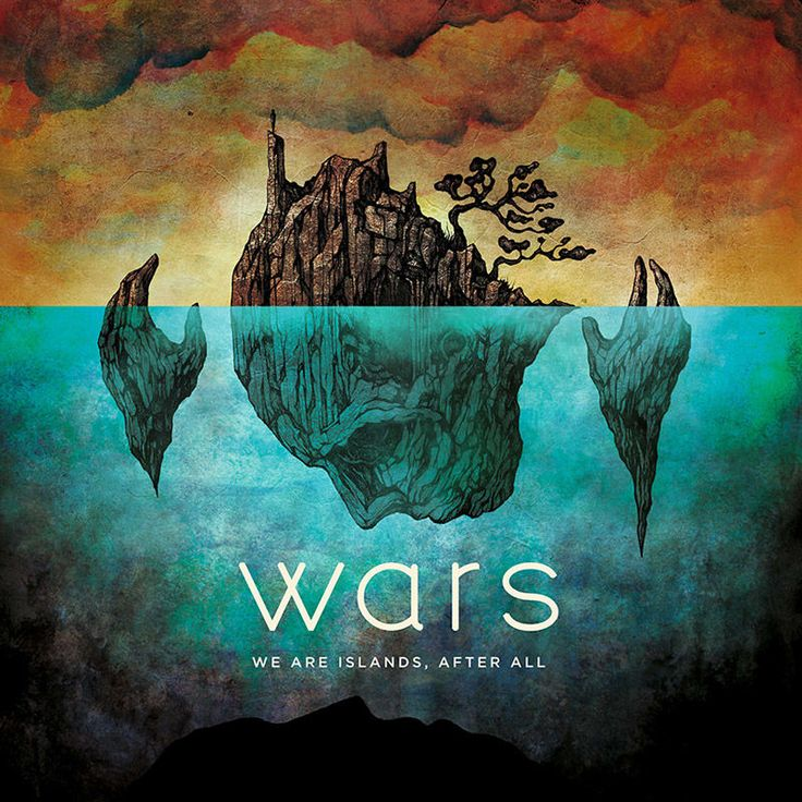 NEWS: wars confirm debut album, 'We Are Islands, After All', out January 27th 2017! | DEAD PRESS! | Alternative music news, reviews, interviews and more!