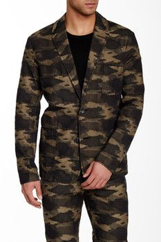 "Mr Turk Denny Camo Blazer - I think ""Mr. Turk"" is actually John Waters. On sale for only $160.00 - Brix"