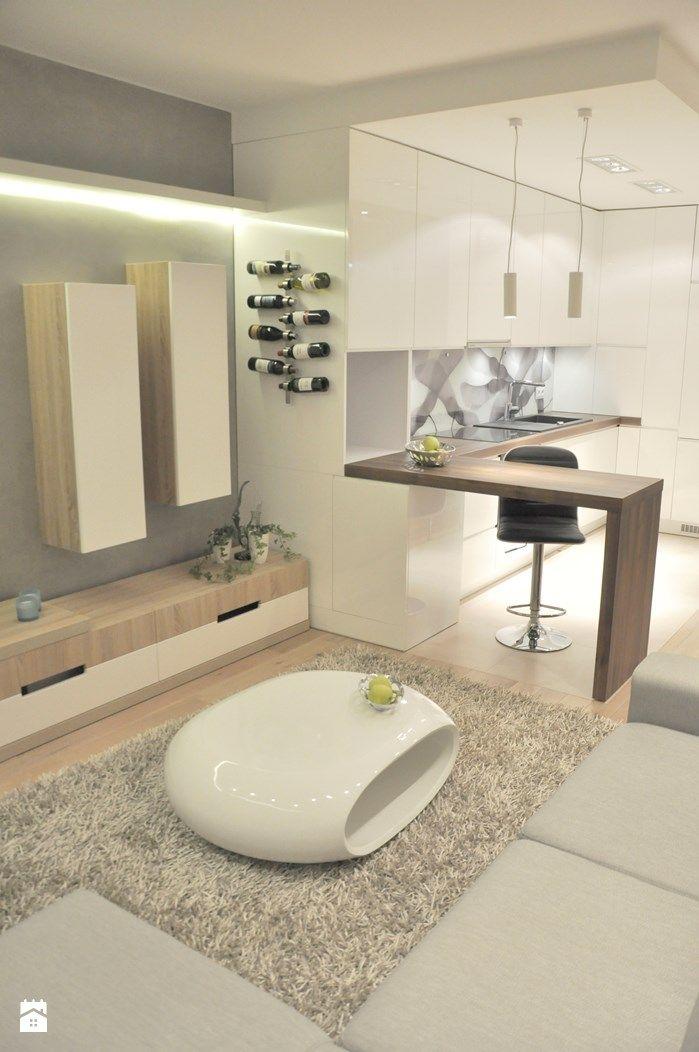 Salon - Styl Nowoczesny - wolakdesign