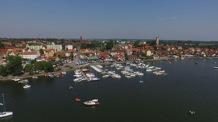 #mikolajki from drone / Mikołajki z drona.
