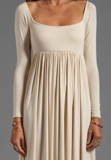 RACHEL PALLY Isa Dress in Cream -- Very pretty as a maternity dress.