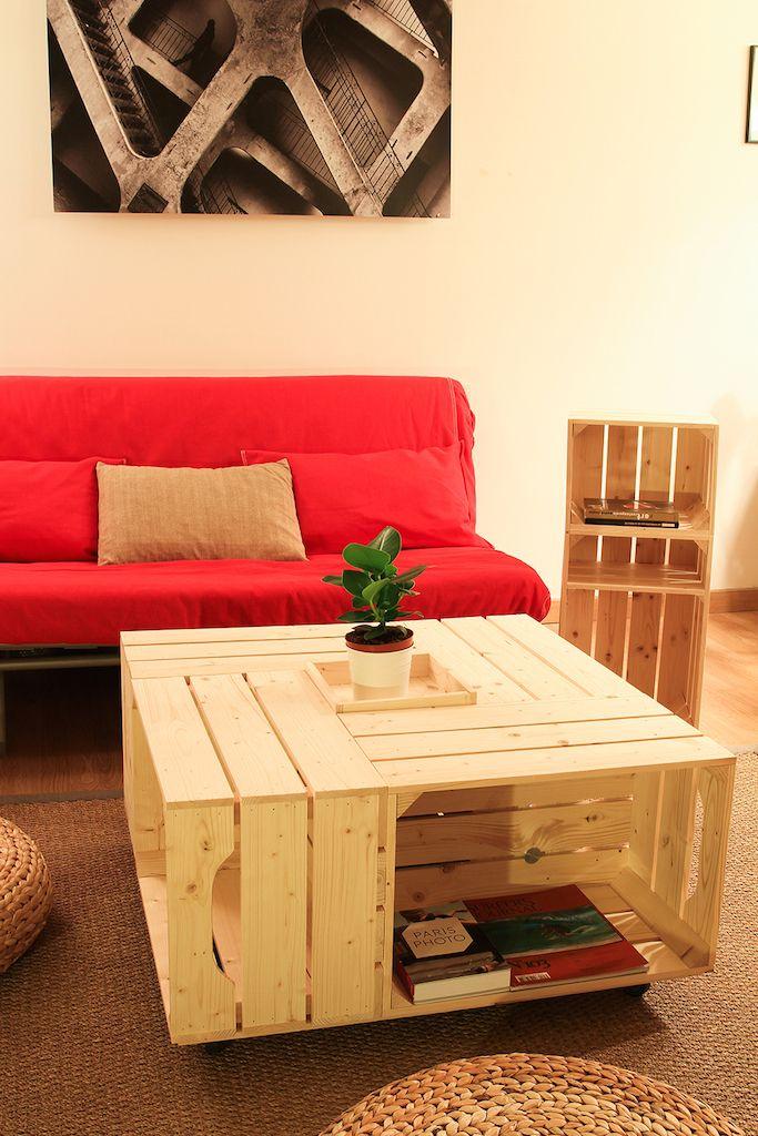 les 20 meilleures id es de la cat gorie tables basses faites maison sur pinterest bricolage. Black Bedroom Furniture Sets. Home Design Ideas