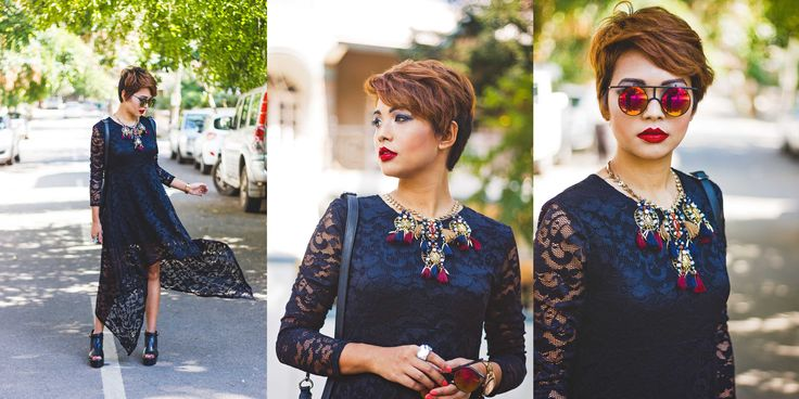 Nilu .Y Thapa, blogger at Big Hair Loud Mouth in Youshine Wind Chimes Short Necklace. #blogger #summertrends #tribal #tassel #necklace  Shop this look here >> http://buff.ly/1K0ZIhX