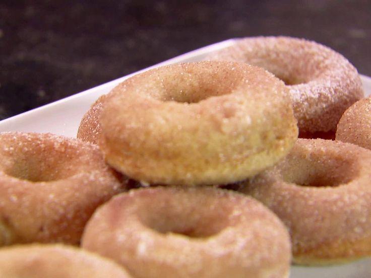 Cinnamon Baked Doughnuts Recipe : Ina Garten : Food Network