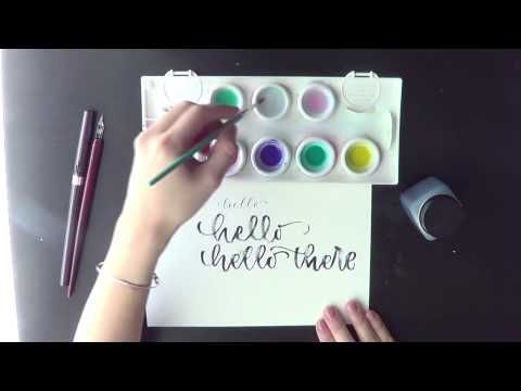 Tips for lefties: Advice from five left-handed calligraphers | pieces calligraphy