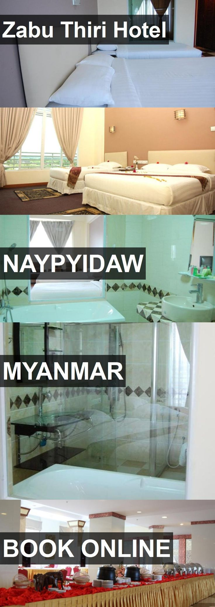 Zabu Thiri Hotel in Naypyidaw, Myanmar. For more information, photos, reviews and best prices please follow the link. #Myanmar #Naypyidaw #travel #vacation #hotel