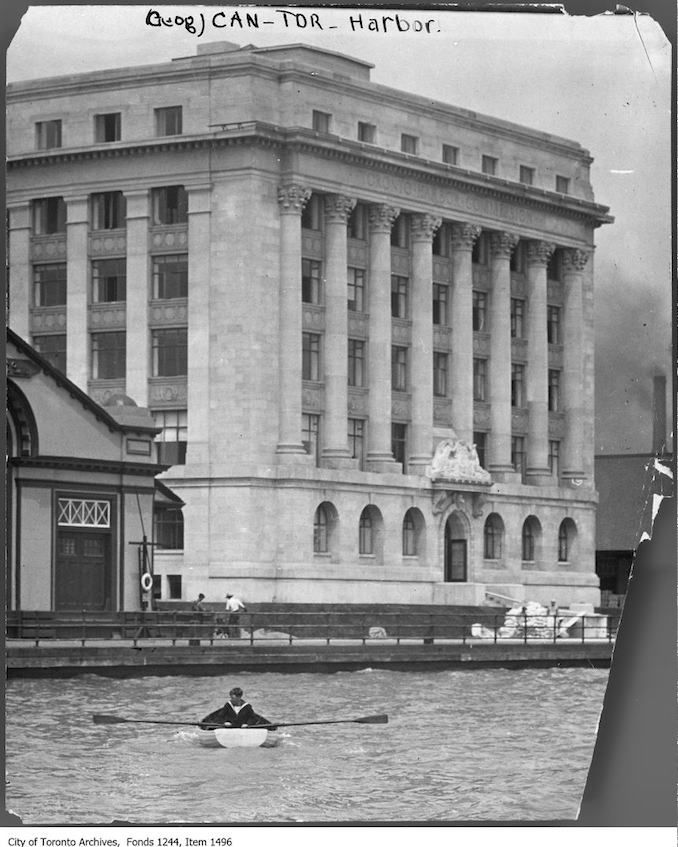 1918 - Toronto Harbour Commission building