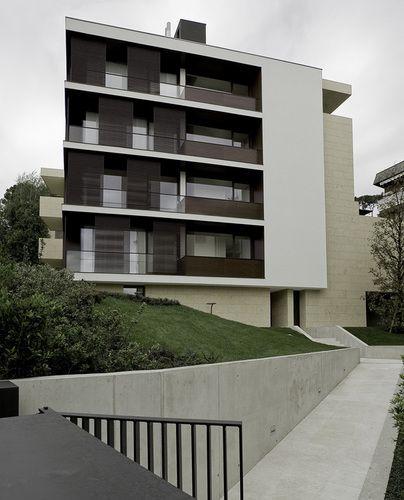Teka Studio - Francesco Valesini - Nadia Bratelli — Edificio residenziale