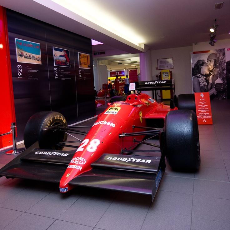 Ferrari F1/87 Gerhard Berger