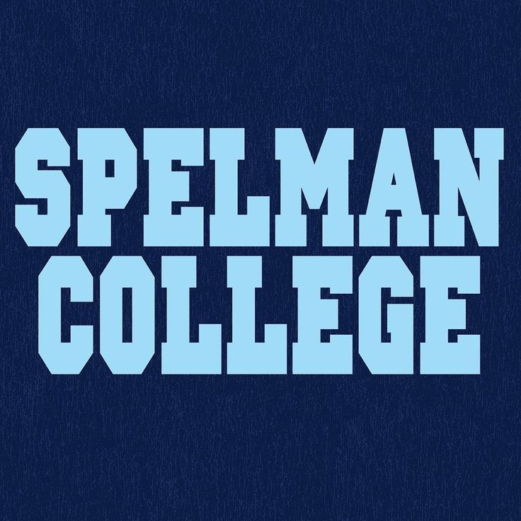 Navy Blue Spelman College Dorm Life Women's Off The Shoulder 3/4 Sleeve Shirt