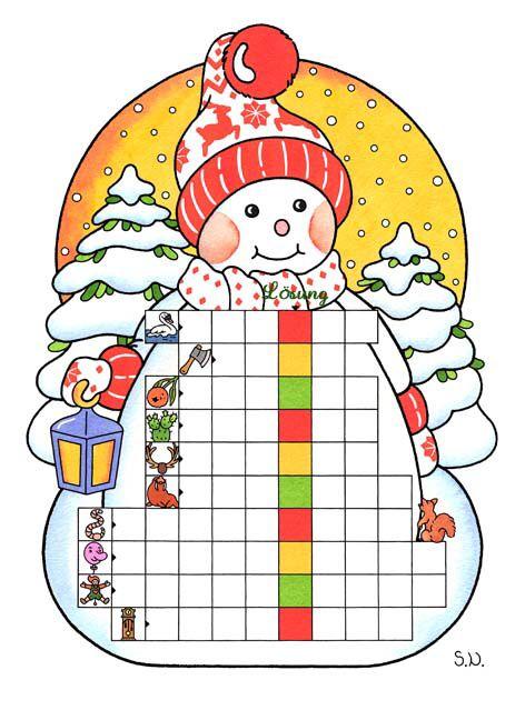 winterrätsel  bilderrätsel für kinder  bilderrätsel