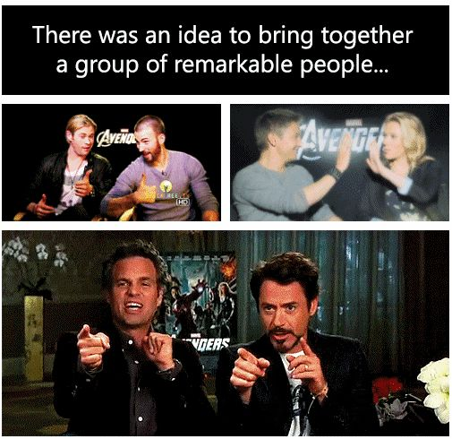 There was an idea to bring together a group of remarkable people..