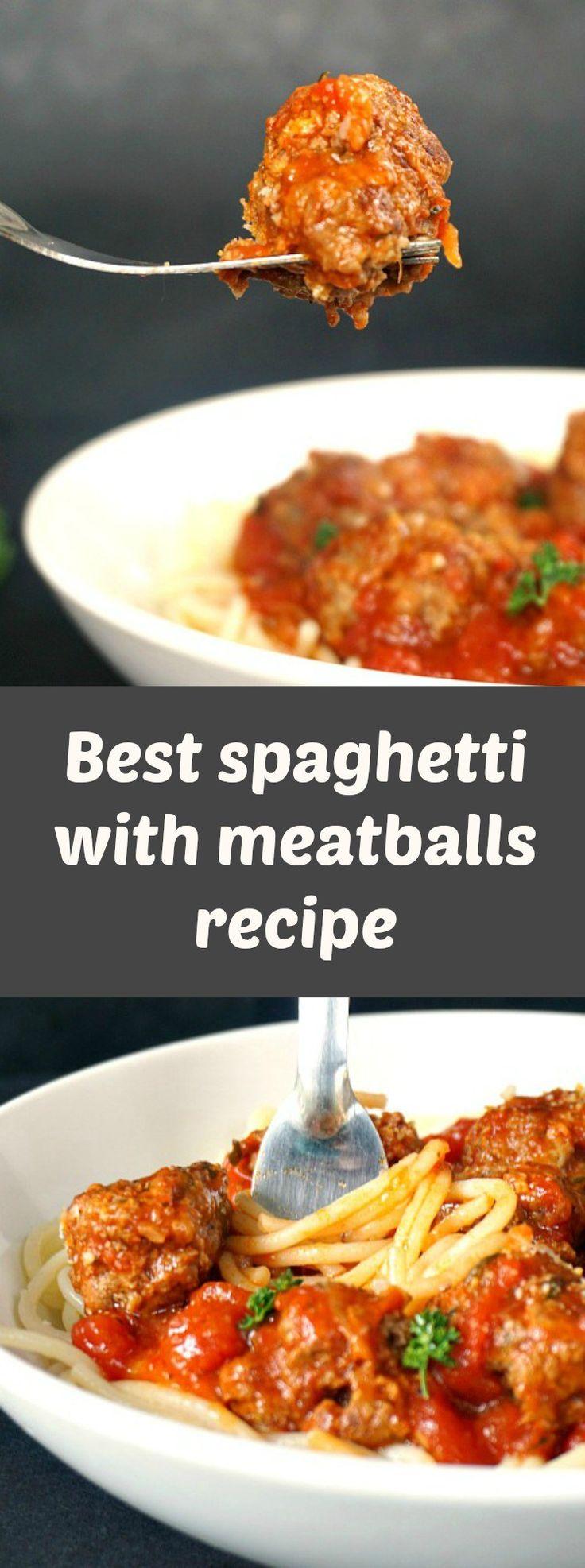 Best spaghetti with meatballs recipe