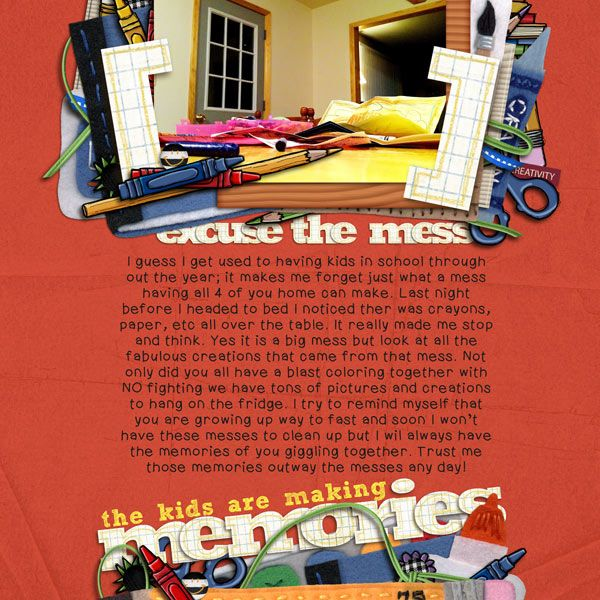 I love that title!Scrapbook Inspiration, Senior Scrapbook