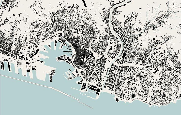 Genova map, 1:50.000