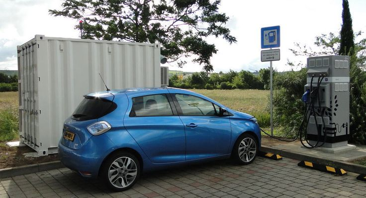 Renault Helps Install Quick-Charge Highway Stations In Belgium And Germany