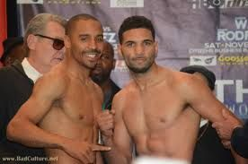 """Dana Miller with Potshot Boxing here!!  Check out my tale of the tape post for the fight tonight between Andre """"S.O.G."""" Ward and Edwin """"La Bomba"""" Rodriguez. http://www.potshotboxing.com/?p=824"""