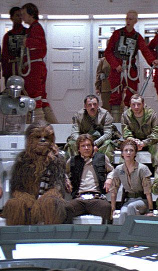 Chewbacca, Han Solo and Princess Leia - Star Wars