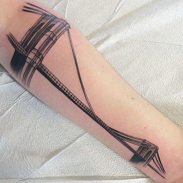 Tattoo Ideas New York: Best 25+ Bridge Tattoo Ideas On Pinterest