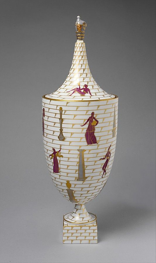 "The Metropolitan Museum of Art - ""La passeggiata archaeologica (An Archeological Stroll)"" Covered Urn. Gio Ponti."