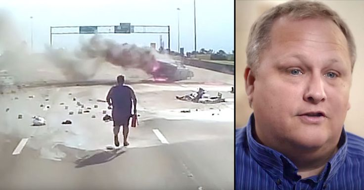 David Fredericksen, a professional truck driver, saw a car going the wrong way on an interstate in Biloxi, Mississippi. He watched in horror as the vehicle slammed into a truck and exploded before his very eyes. His dash cam recorded the tragic crash. Within seconds, the entire car was on fire. David prayed, left the...