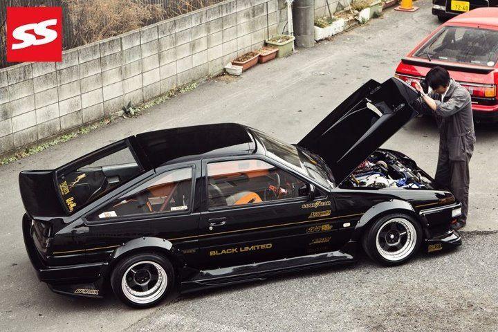1986 Toyota Corolla. So cool :)