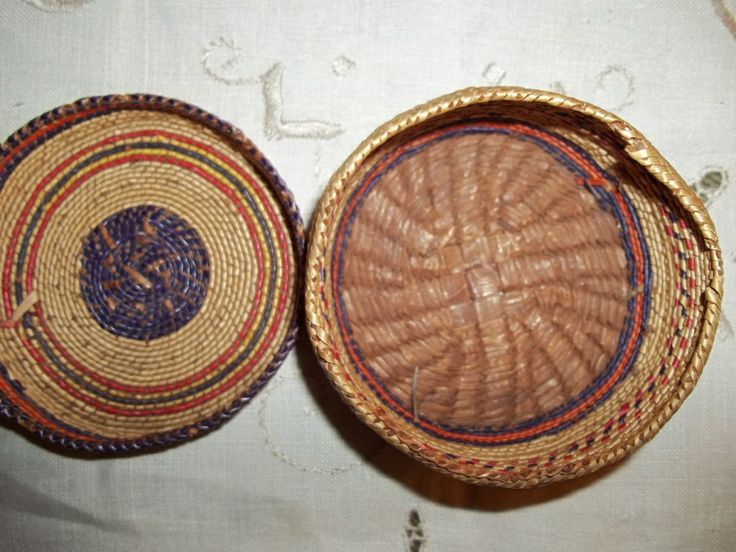 Traditional Native American Basket Weaving : Best images about cedar bark weaving on