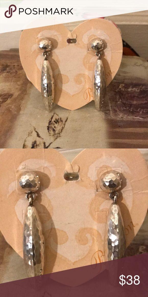 Brighton earrings🌸 Silver pierced earrings  NWT Brighton Jewelry Earrings