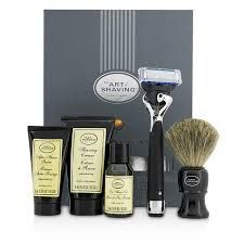 Father's Day gift . FREE SHIPPING. Lexington Collection Power Shave Set: 1x Lexington Collection Power Razor + 1x Shaving Brush +1x Pre Shave Oil -  Unscented 30ml/1oz + 1x Shaving Cream - Unscented 45ml/1.5oz + 1x After Shave Balm - Unscented 30ml/1oz . Ideal both for  personal use & as a gift.