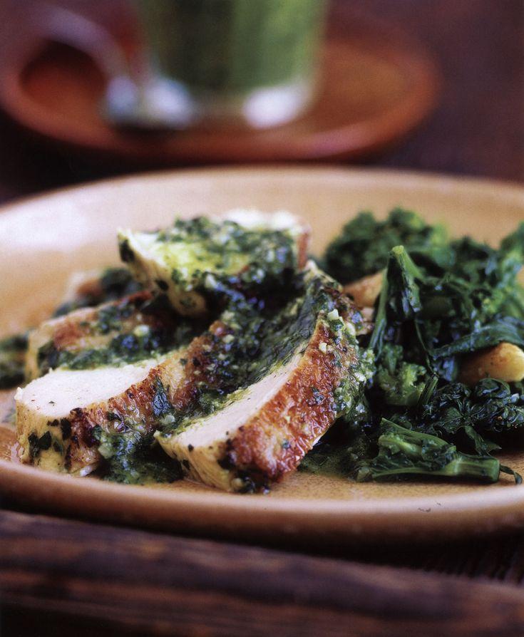 Grilled Chicken Chimichurri Recipe — Dishmaps
