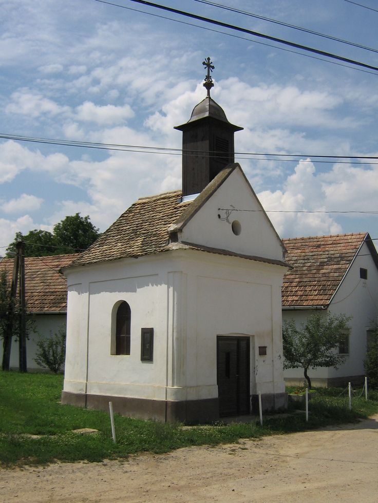 Small Church in the village. Kövesd.