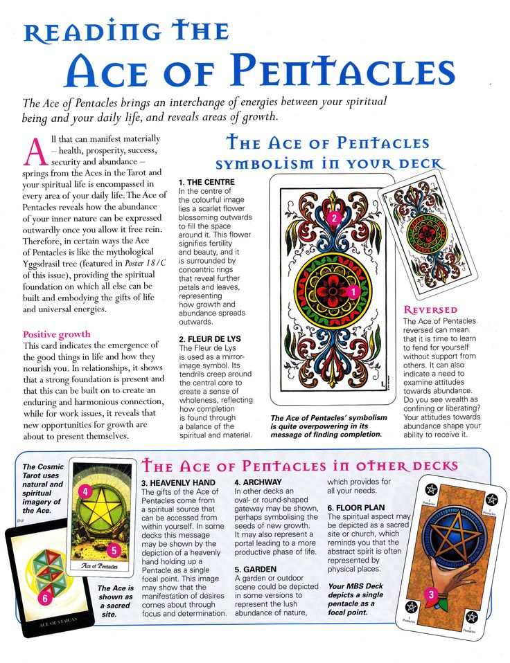 Reading The Ace Of Pentacles
