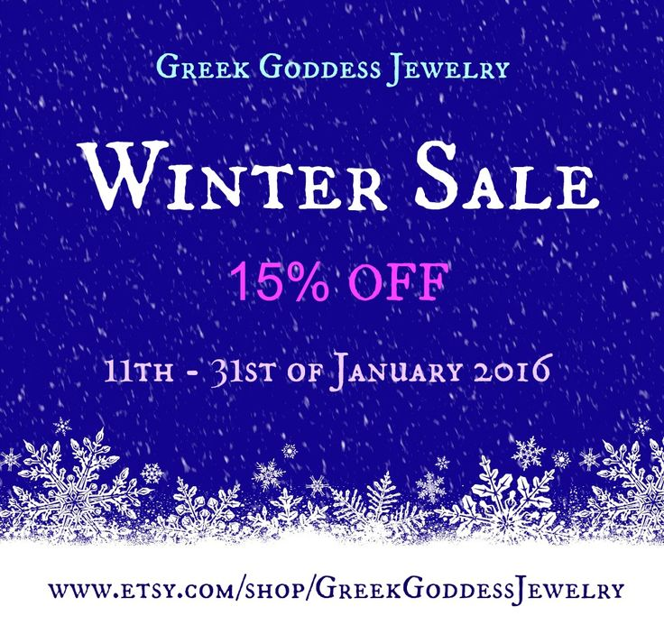 We are having Winter Sale!!! 15% OFF for all items in our Etsy shop! Happy shopping!