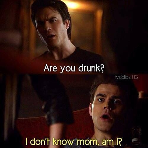 This part was too funny The Vampire Diaries