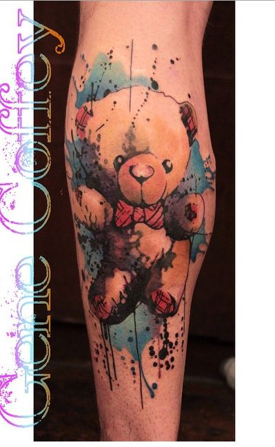 17 best ideas about teddy bear tattoos on pinterest crochet animals crochet bear and crochet. Black Bedroom Furniture Sets. Home Design Ideas