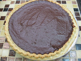 Chocolate Pie ~ made with Eagle Brand Milk  by Marsha Johnson's grandma