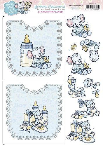 Hobbydots Sheets - Yvonne Creations - Baby Boy