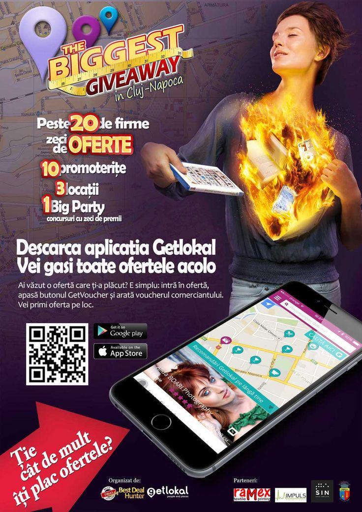 SmartPlan Agency | The Biggest Giveaway in Cluj Poster Servicii de Marketing: Event Management, Event Concept, Design, Strategy, Promovare si Publicitate