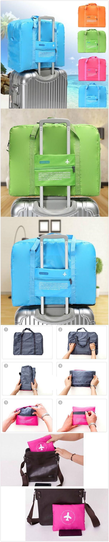 【$ 9.51】Folding Nylon Capacity Travel Storage Bags