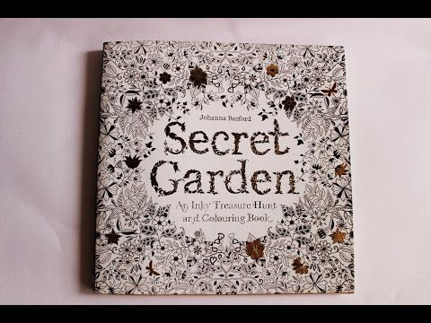 Secret Garden Coloring Book Flip Through Review